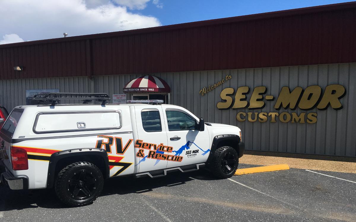 RV service truck